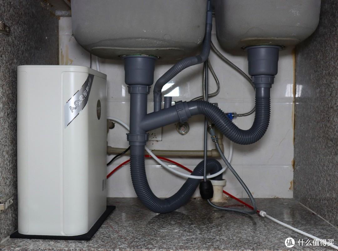 因为龙头损坏,我把净水器整个换了——佳尼特大白Pro净水器新装小晒