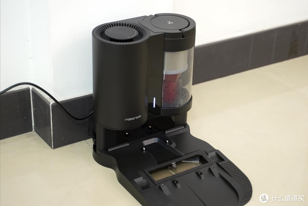 这款扫拖机器人的拖地功能也很强——石头T7S集尘套装体验测评