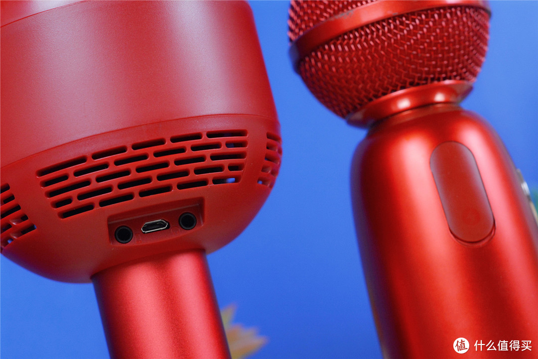 唱吧小巨蛋Q5麦克风:8种音效,两个人能一起K歌