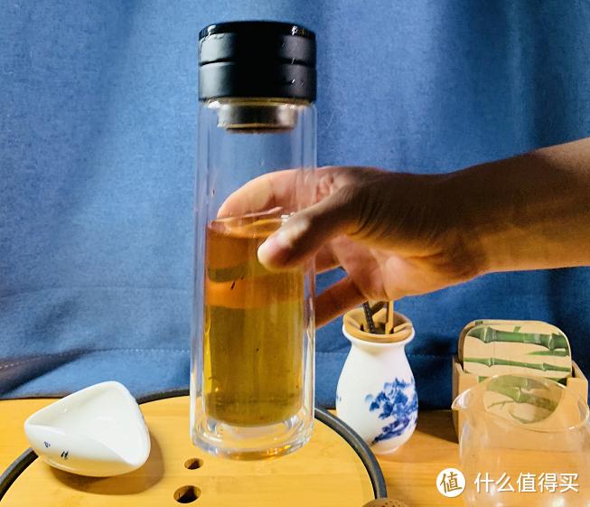 """简约而不简单办公室好物!茶水完美分离,喝茶/水必备——希诺""""哒哒杯"""""""