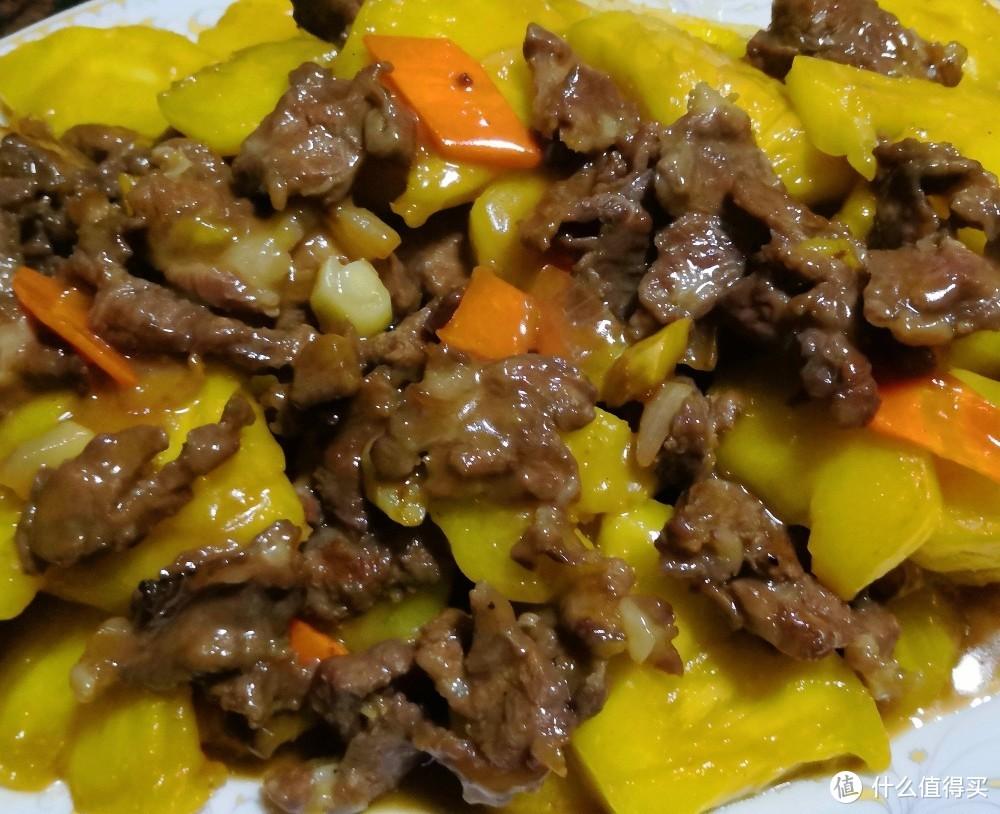 菠萝炒牛肉/酸甜开胃,牛肉嫩滑