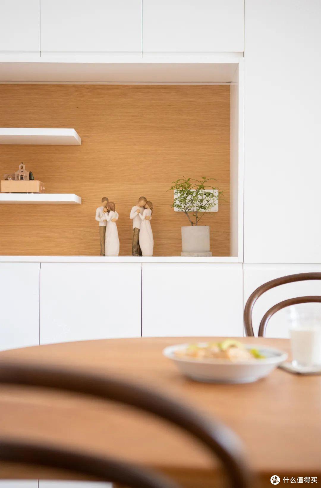 81㎡有娃之家0杂物,客餐厨一体+变态收纳,美到全小区围观!