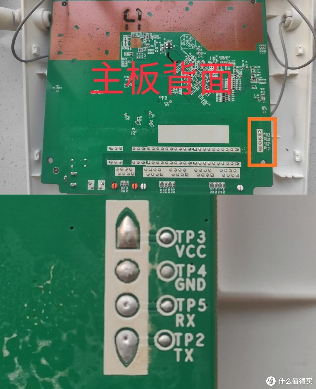 TX/RX分别是发送端和接收端,GND是地,线刷的串口通信接口,也就是待会需要连接CH340TTL转USB模块的触点