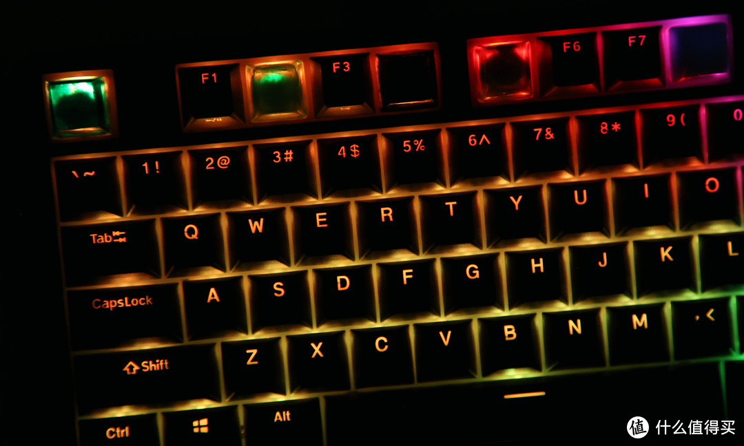 炫彩RGB光效 有颜有实力 老星云 新轴体