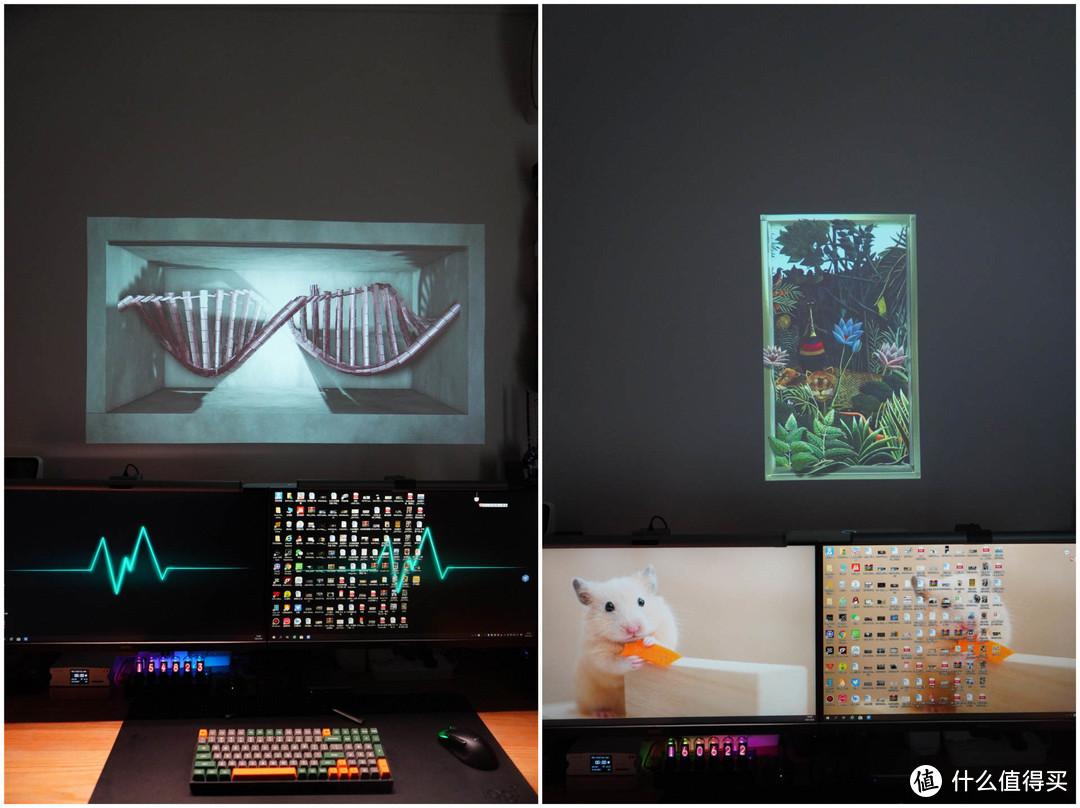 既能观影又可以耍酷,我给电脑桌面增加了一面智慧墙