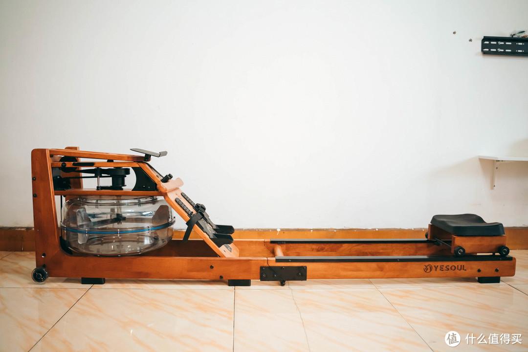 真实划水体验!小户型也能拥有健身房——野小兽智能划船机R30折叠款