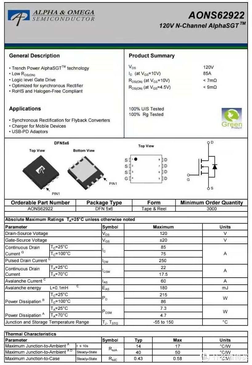 拆解报告:mophie 65W 1A1C氮化镓快充充电器