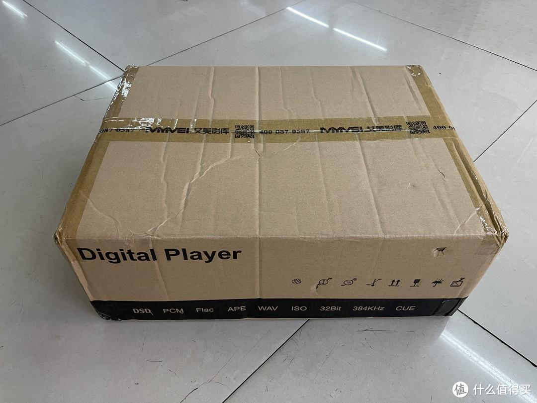 MYMEI艾美HiFi数播DMP-20开箱简评
