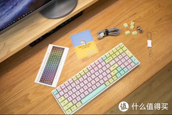 不一样的布局,不一样的手感,小呆虫SK96S双模键盘