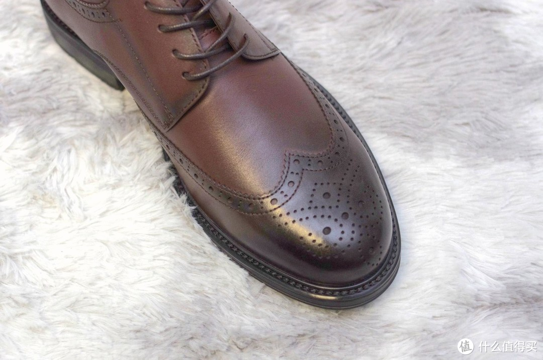 互联网时代的专属定制鞋:sinmec芯迈布洛克德比皮鞋