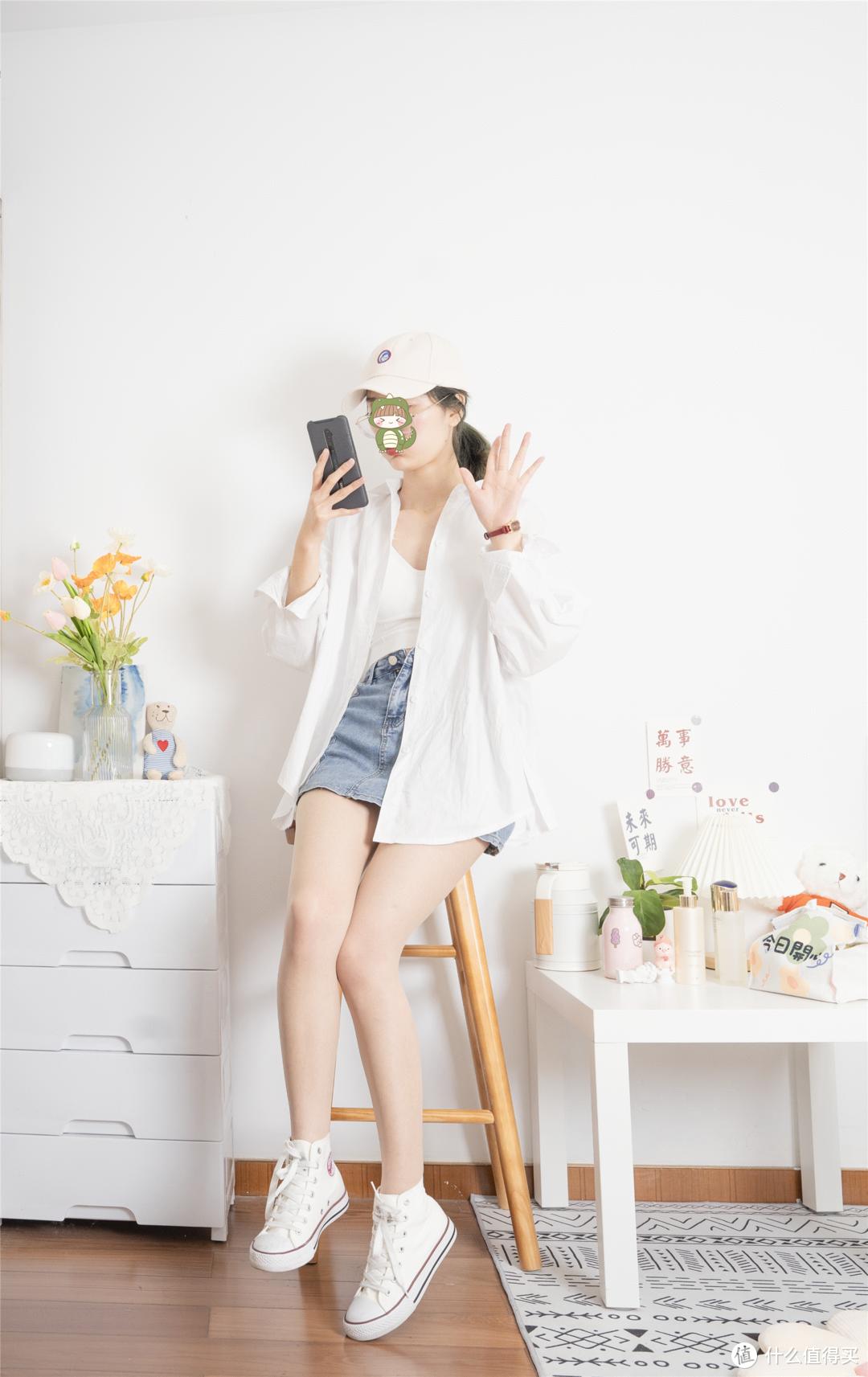 基础款白衬衫也能穿出时髦感,7套真人穿搭你学会了吗!