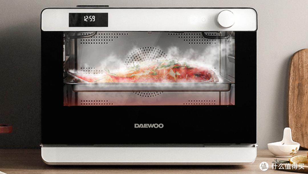 蒸烤箱好用吗?PK传统烤箱,6道快手菜实测大宇蒸烤箱