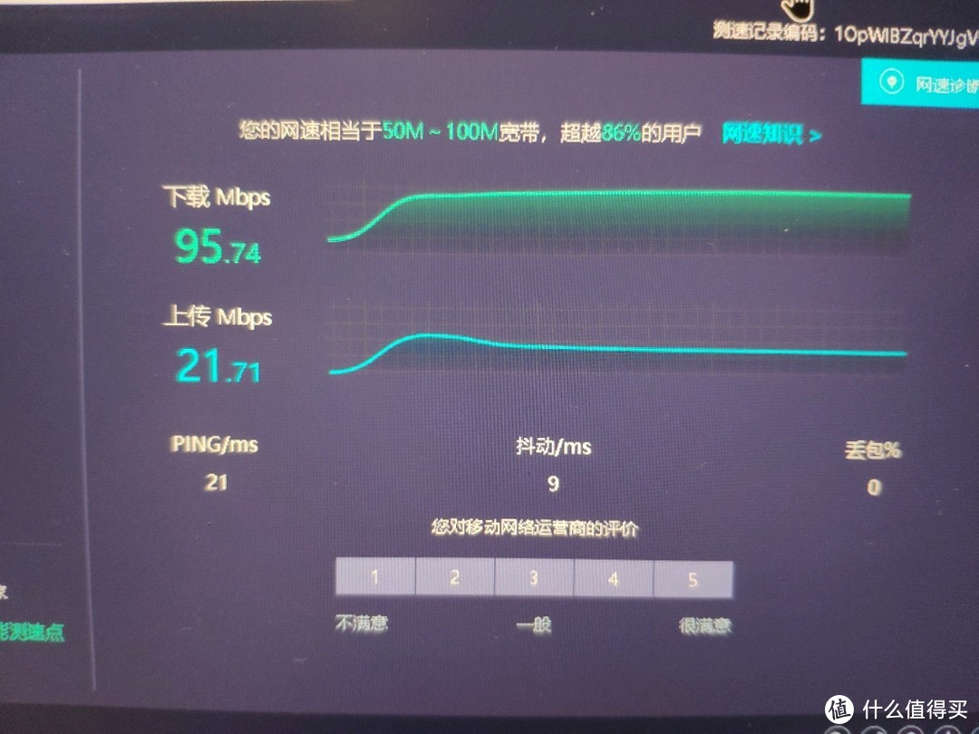这是更换ax210网卡后,红米ax6的测速结果