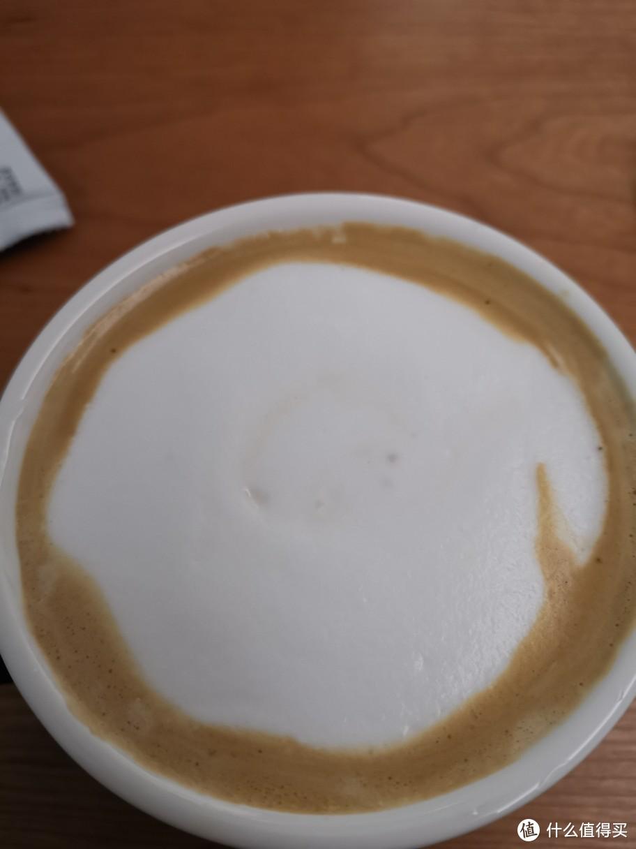 冷奶泡用法压壶作弊打出来,雪糕质感