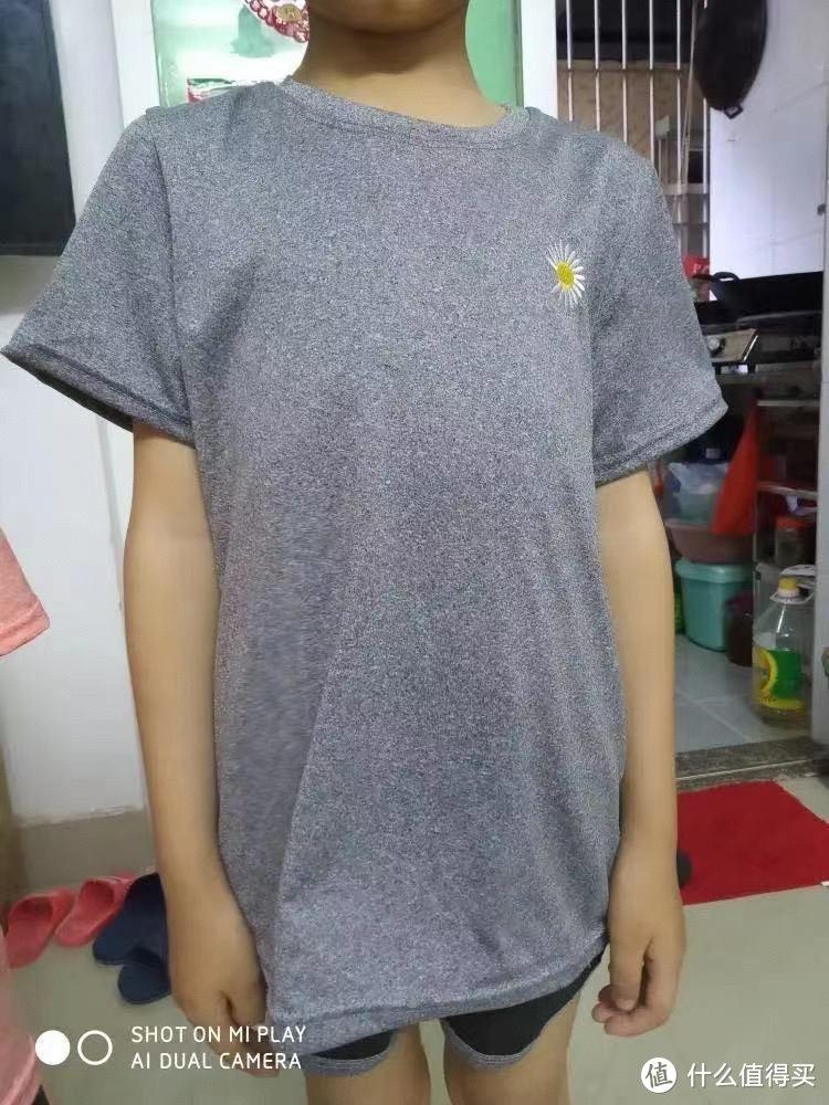 2021儿童套装男童运动速干衣女童夏季新款时尚小雏菊短袖两件套