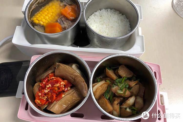 小熊电热饭盒实用测评,通勤族的健康好物!