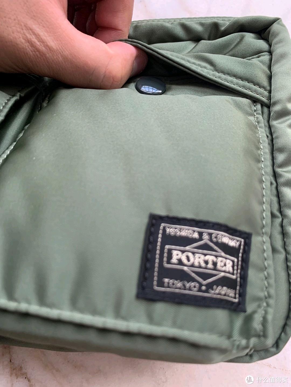 都说包治百病之精致男孩的单肩包PORTER TANKER(L)开箱