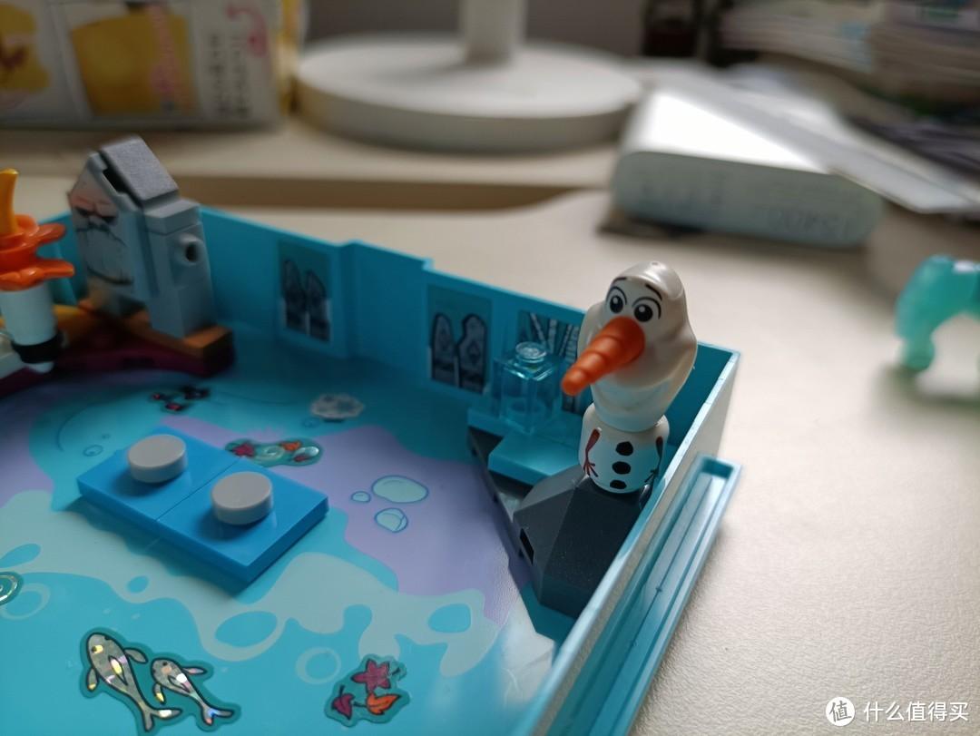 图书馆猿の乐高(LEGO)积木 迪士尼公主系列 43189 艾莎和水精灵诺克的故事书大冒险简单晒