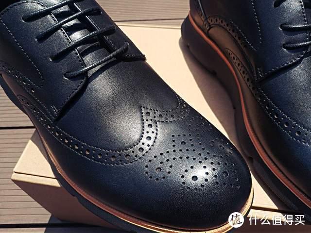 商务也运动:七面抗菌商务运动德比鞋体验