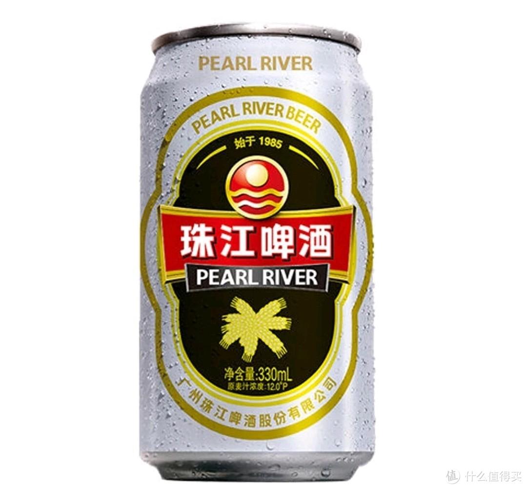 老珠江:麦汁浓度12°P,酒精度≥4.3