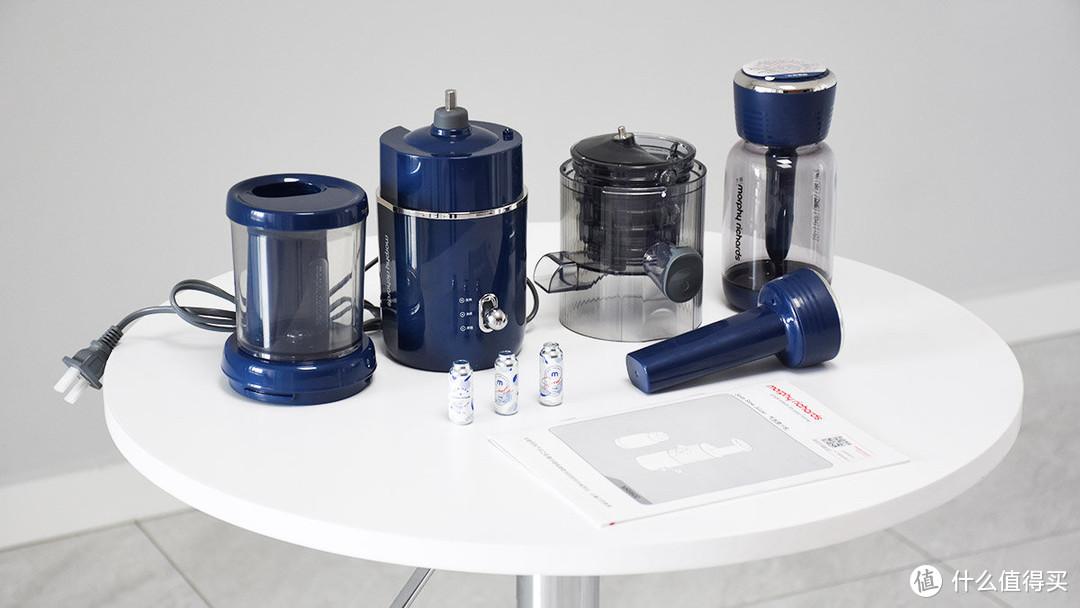 摩飞二合一气泡原汁机:自制气泡饮料 多维C不肥胖