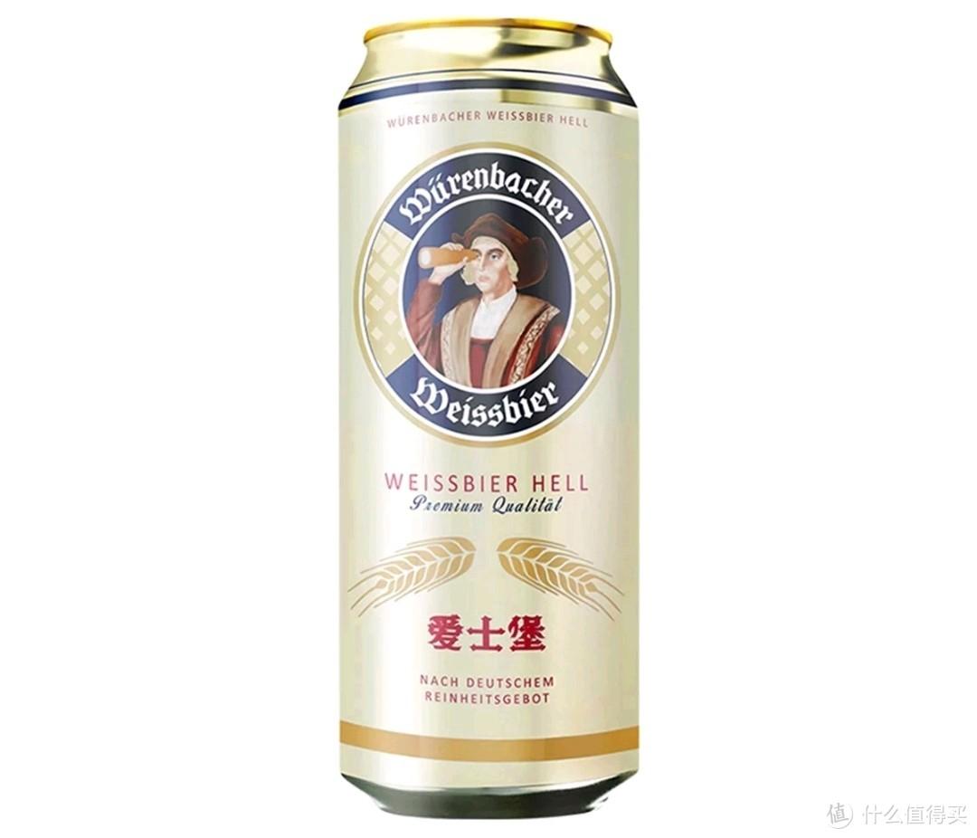 爱士堡小麦白啤:麦汁浓度11.5°P,酒精度≥5.3