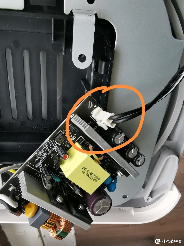 电脑版安装后要把电路板翻过来,然后把原来的接线插座插上
