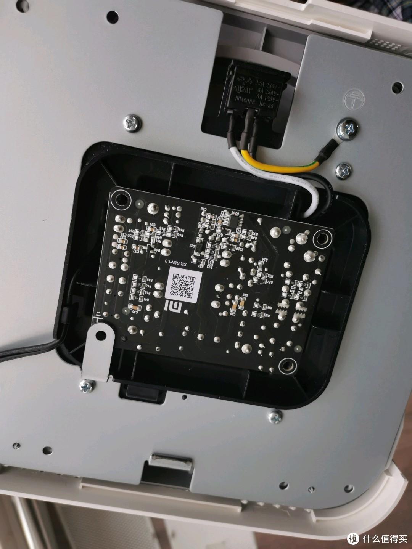 然后把电路板反过来,扣上对好螺丝孔位置