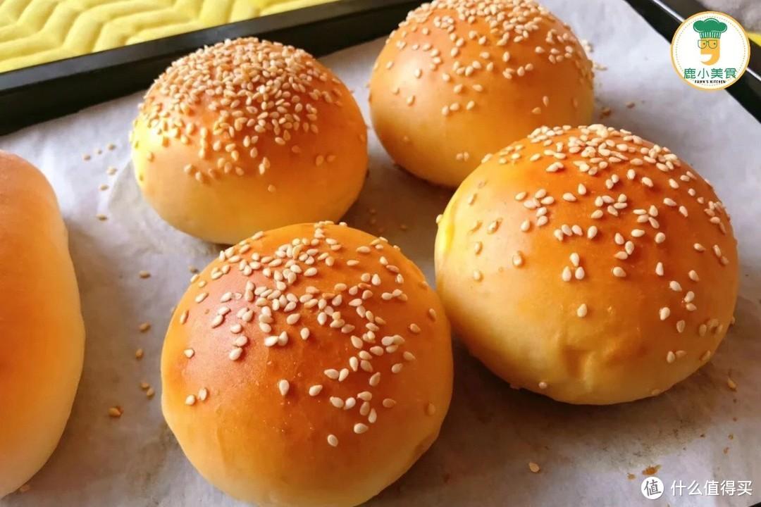 自从学会做汉堡包,小孩不知道多开心!隔天吵着吃,比买还美味