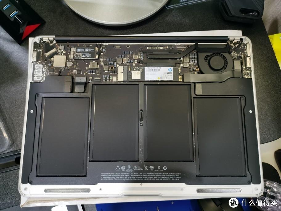 给同事的Macbook Air(2013中期)升级1T硬盘
