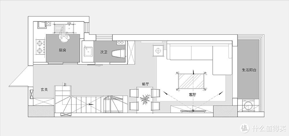 看了这套LOFT公寓后,我承认被治愈了,原来面积小也可以装得很美