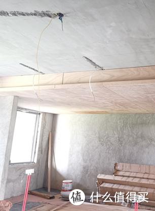 △从天花开槽拉线,一般电工师傅都可以做