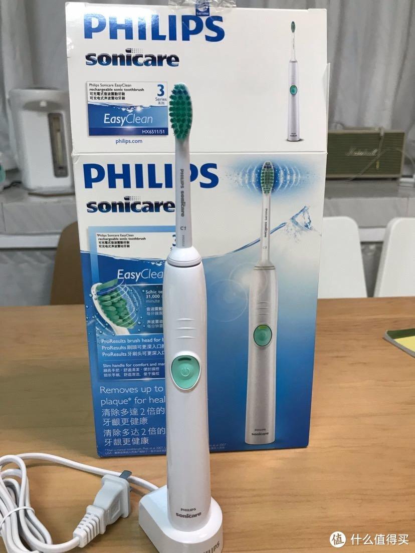 简配也降价的飞利浦电动牙刷hx6511