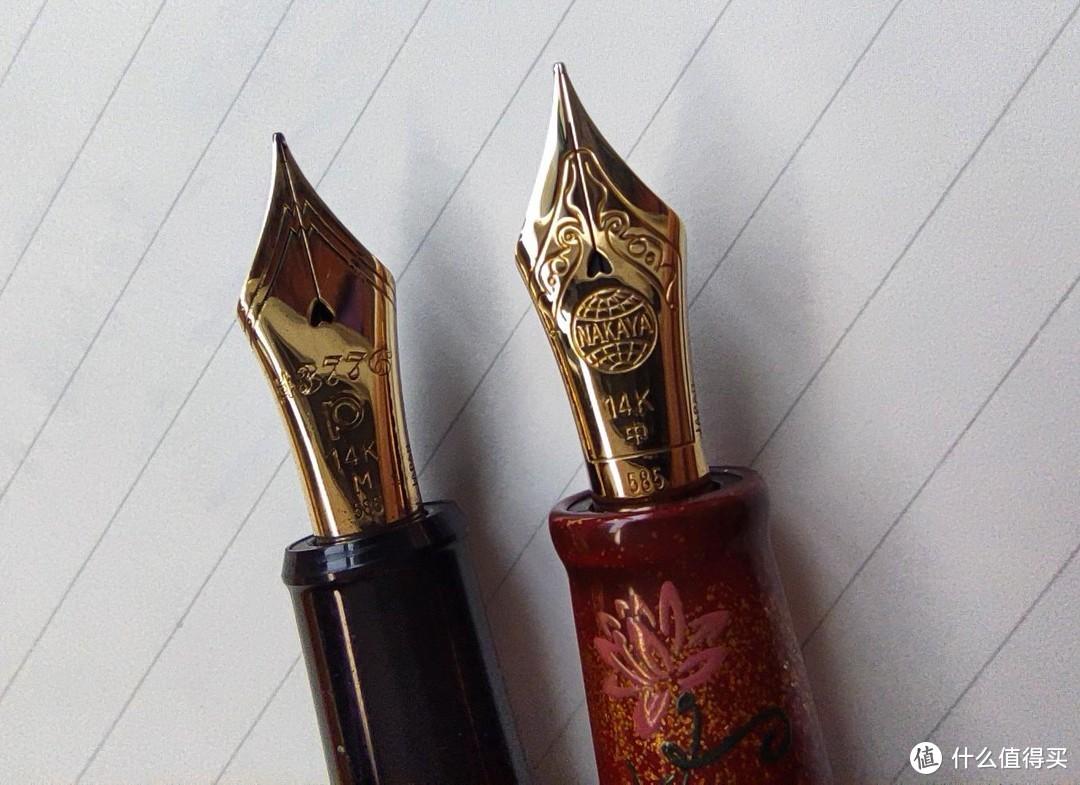 挑选一致合适的随身金笔~白金开放式金尖钢笔解析
