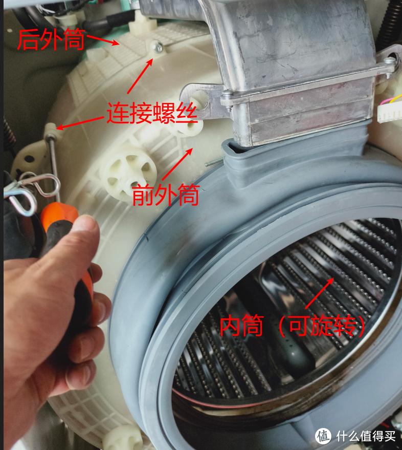 """""""接了个大活"""" 之拆机清洗小米10kg洗烘一体机"""
