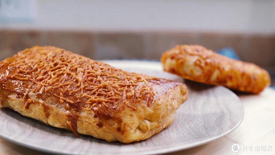空气炸锅烤鸡肉卷,外皮香酥好嚼,馅料鲜香四溢