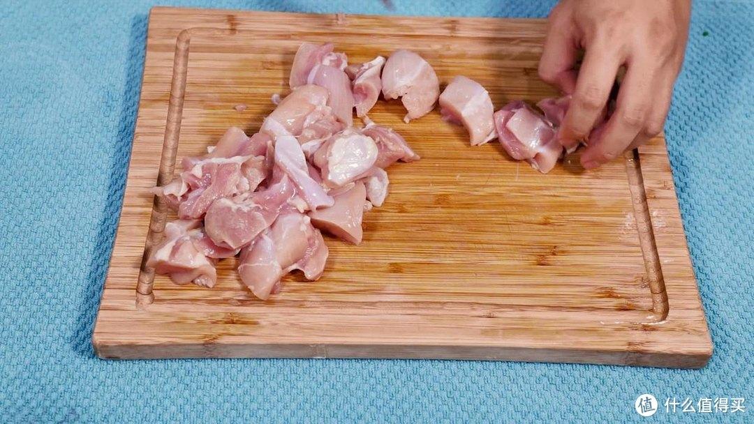 空气炸锅左宗鸡,酱香浓郁