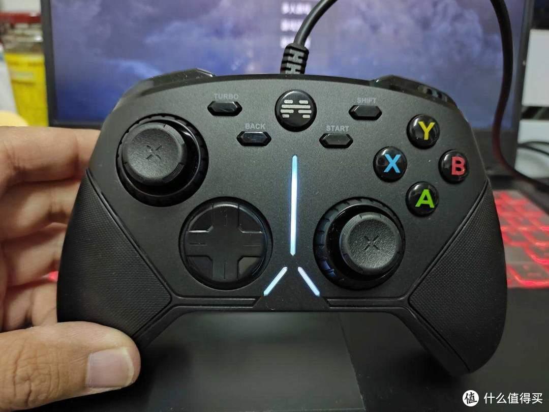 机械按键手感,带你玩转竞技游戏:北通阿修罗3有线游戏手柄体验