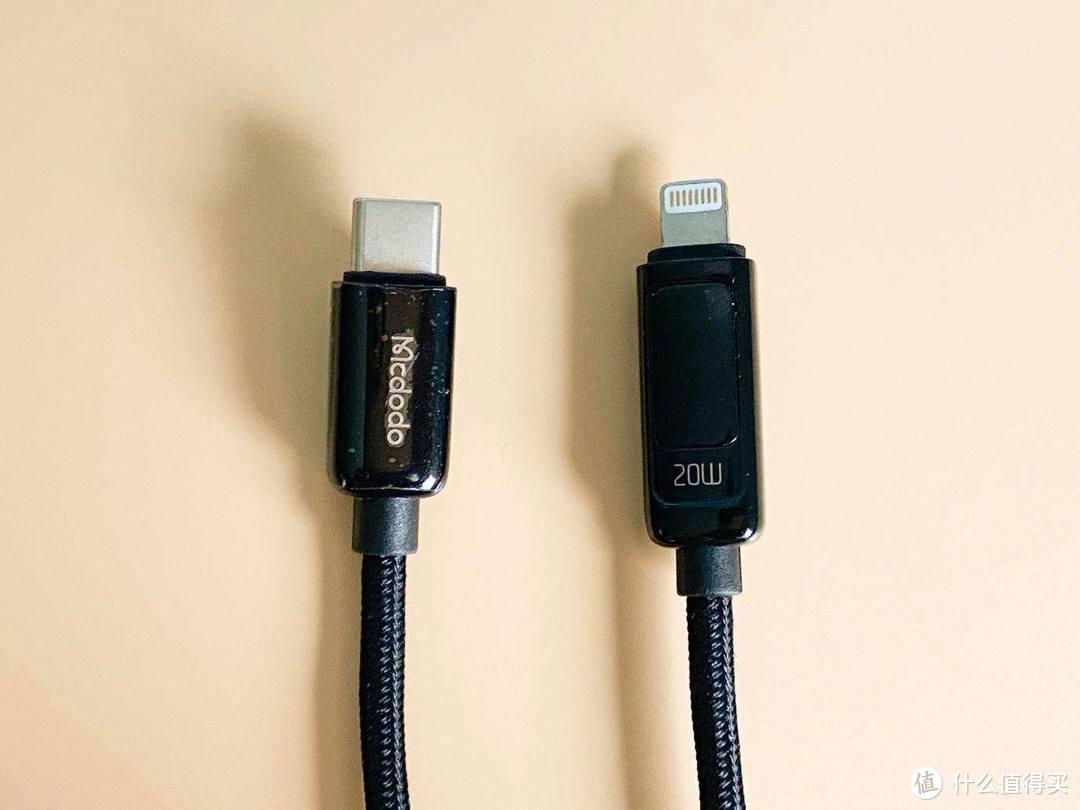 麦多多带功率显示的充电线,是不是快充一看就知道!