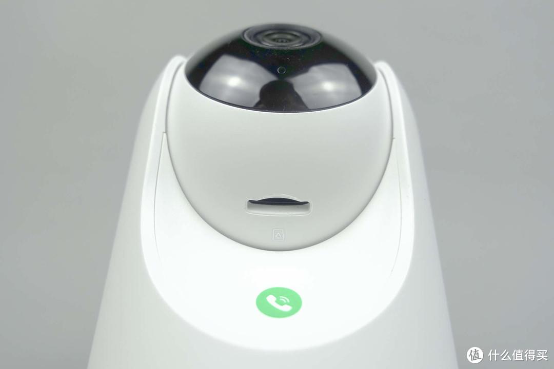 看娃神器360智能摄像机云台7P 安全不留盲区