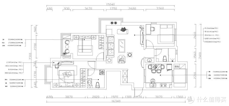 温暖有爱的新中式,124平三室两厅装修很精致,效果太有爱了