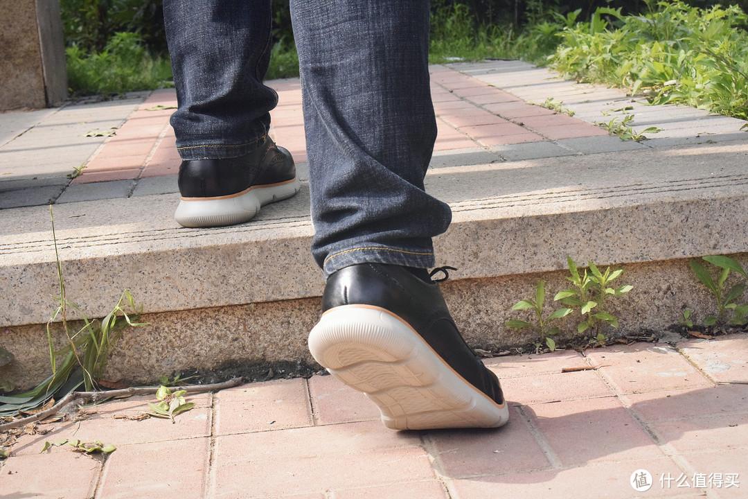 多面人生,仪式与休闲并存!七面抗菌商务运动德比鞋体验