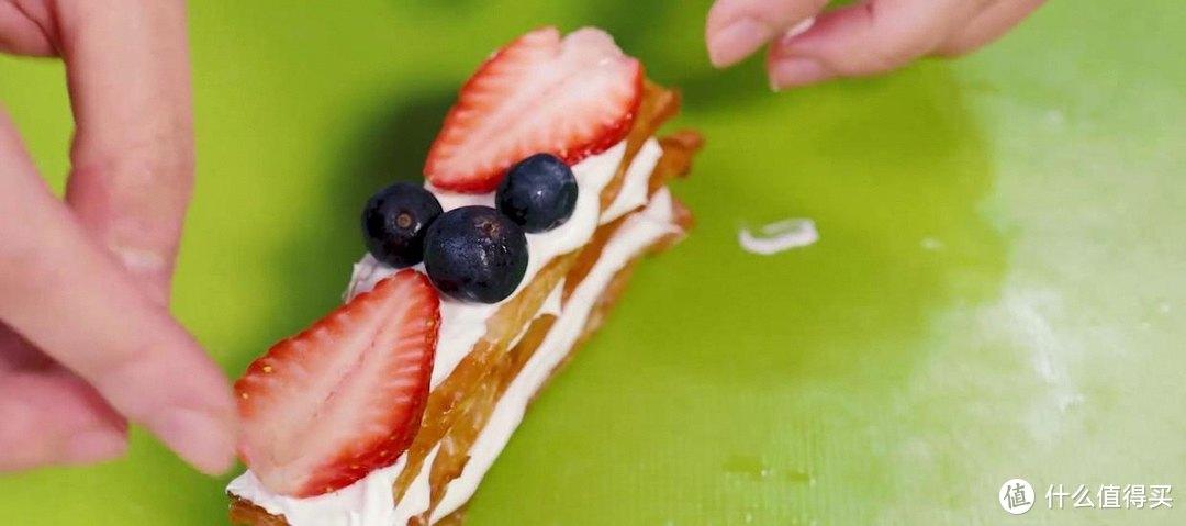 空气炸锅拿破仑蛋糕,奶香味浓郁