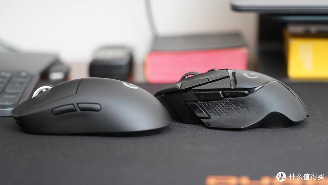 要至轻还是要至重?罗技GPW 2代与G502无线鼠标对比体验