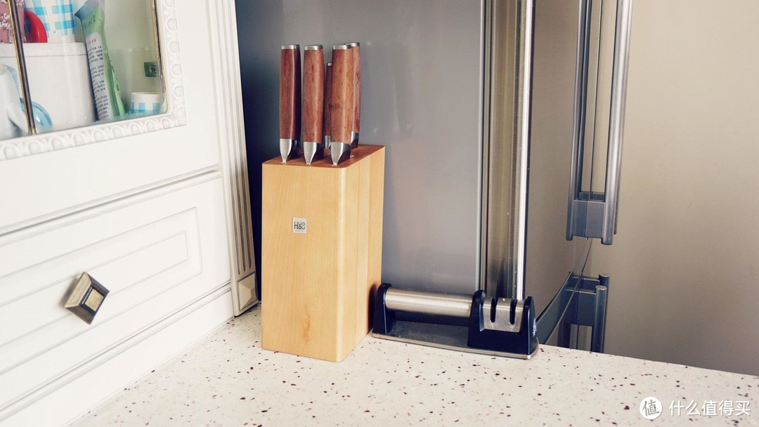 德国钼钒钢,碳化手柄,国产百元菜刀套装媲美1000+双立人