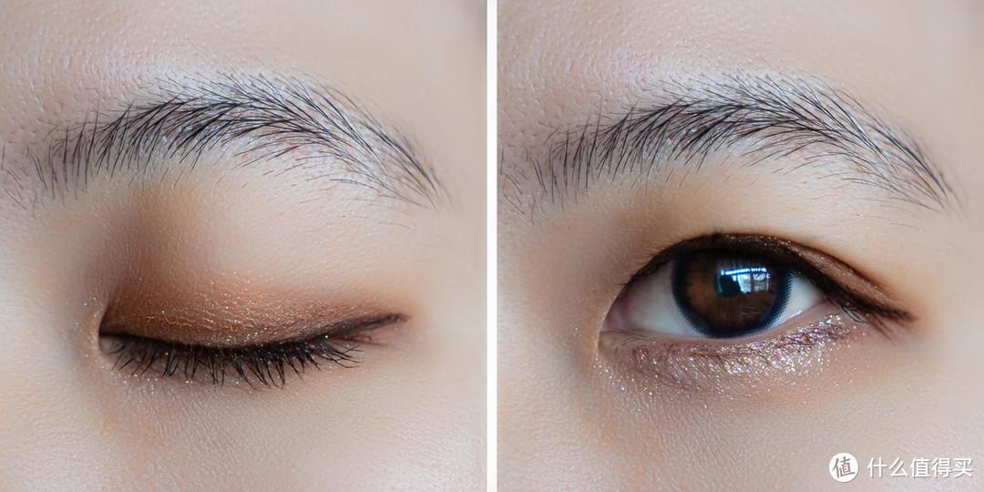化完妆的眼睛