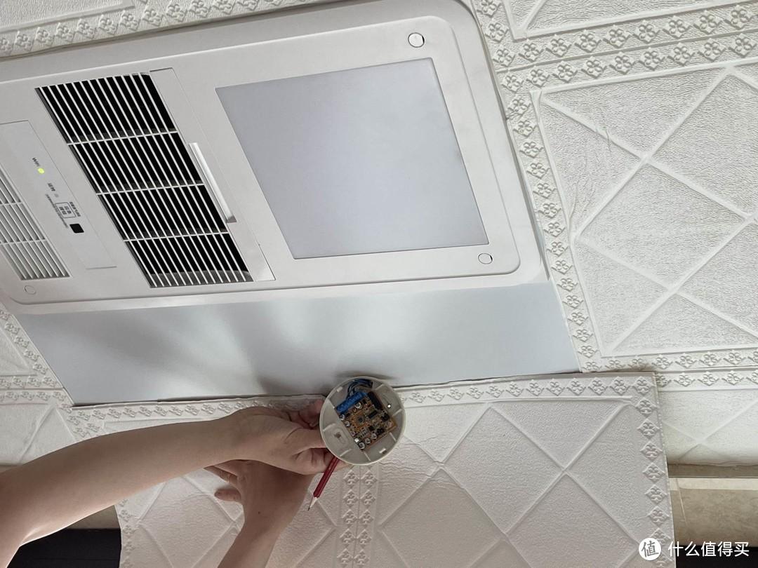"""亲手安装:松下浴霸FV-RB20VL1W 冬暖夏凉型智能浴霸""""安家记"""""""