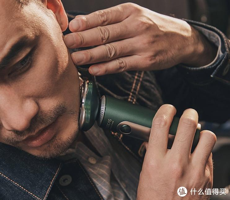 好物推荐  男神必备   洁面、剃须、修鬓、剪鼻毛...神器在手,一机搞定!