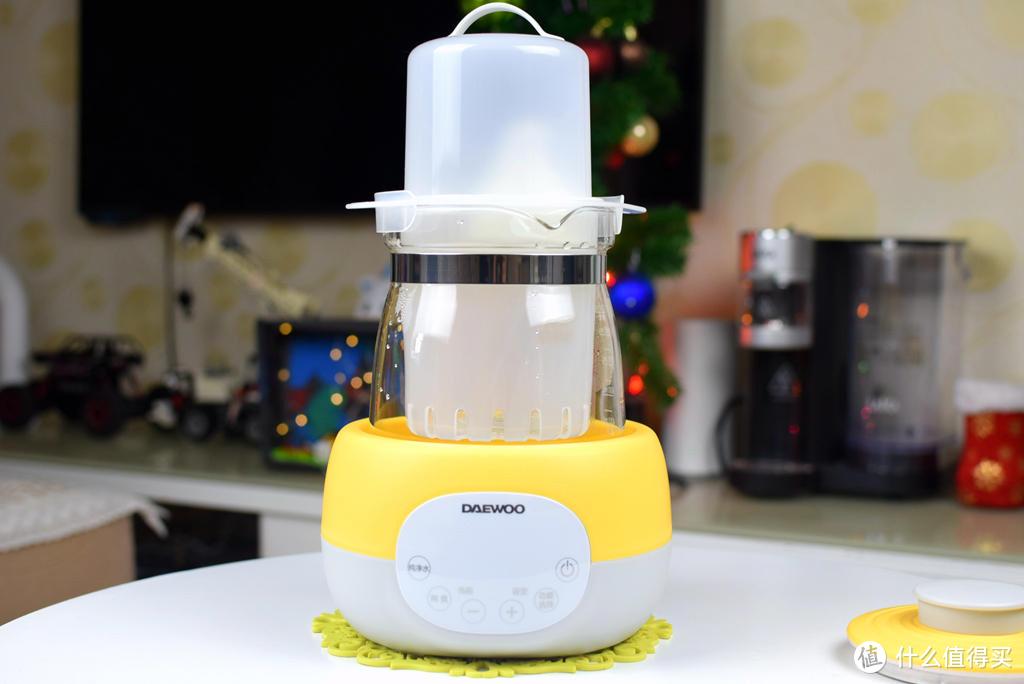 新手宝爸宝妈养娃神器:恒温、智能调温、消毒、烧水