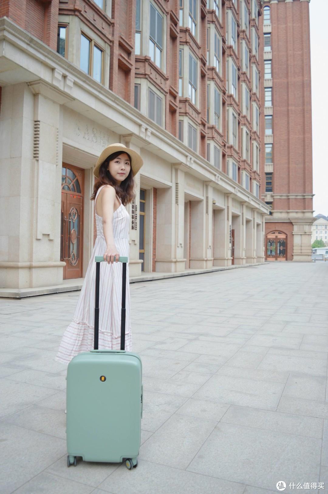 我的春日出行好物:少女心满满的地平线8号NONO行李箱